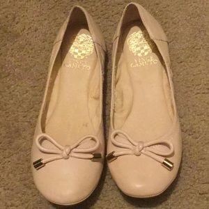 Vince Camuto leather flats